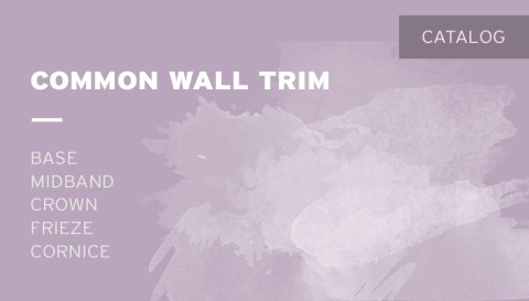 Catalog – Common Wall Trim
