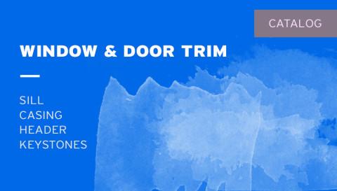 Catalog – Window & Door Trim